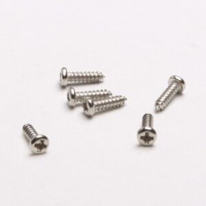 Set of mounting screws