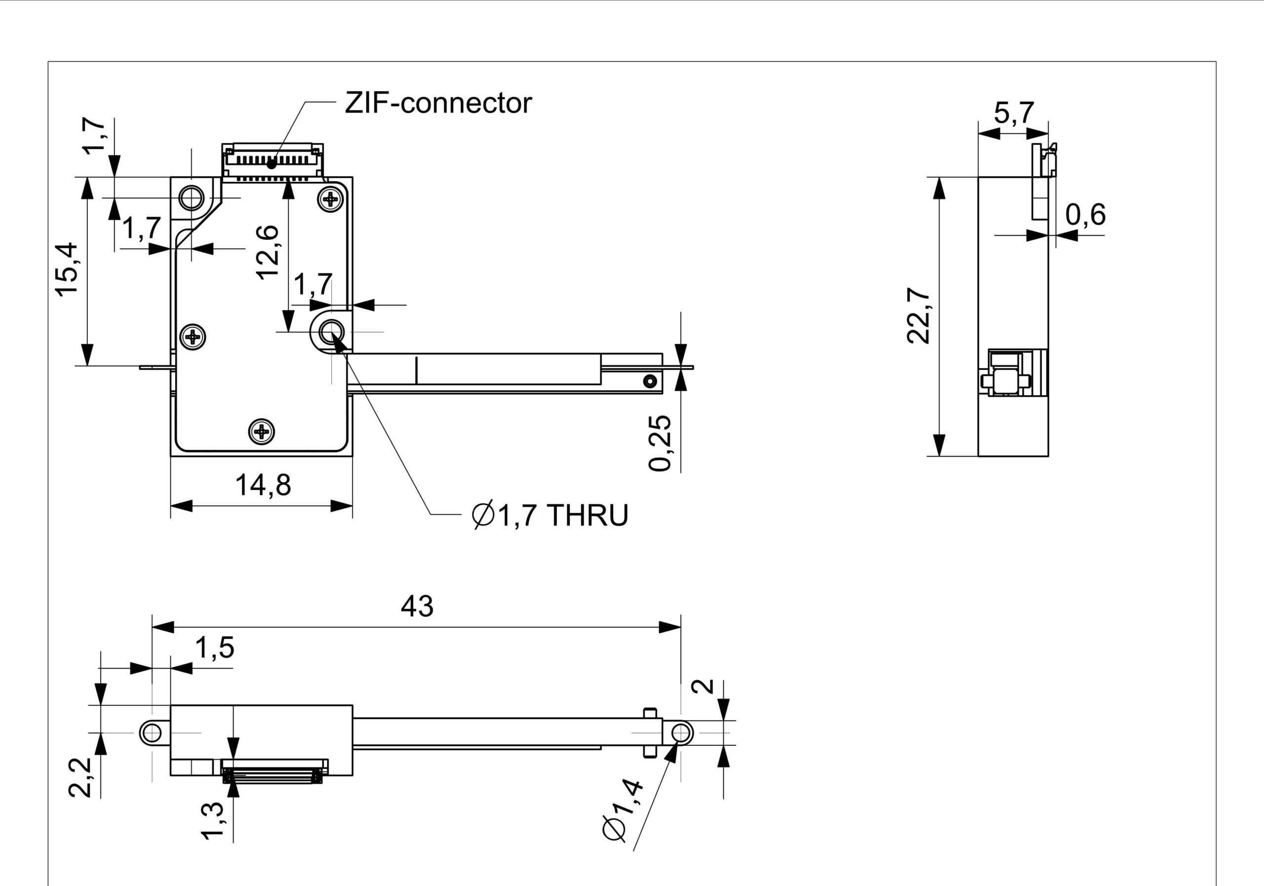 XLA technical drawing